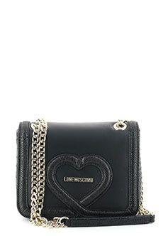 Сумка MOSCHINO Love Черный сумка love moschino jc4067pp14lh0000