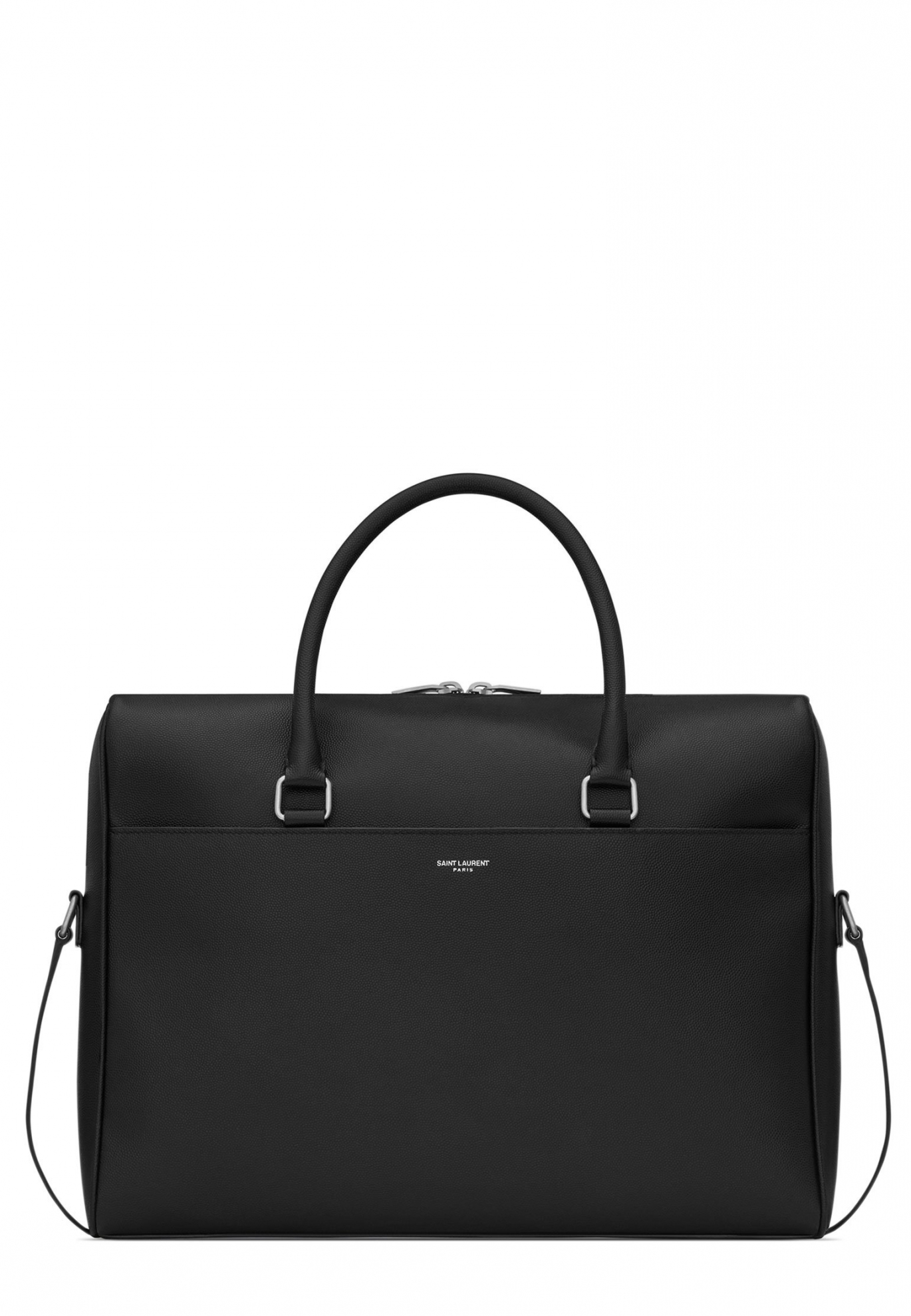 Черный портфель SAINT LAURENT