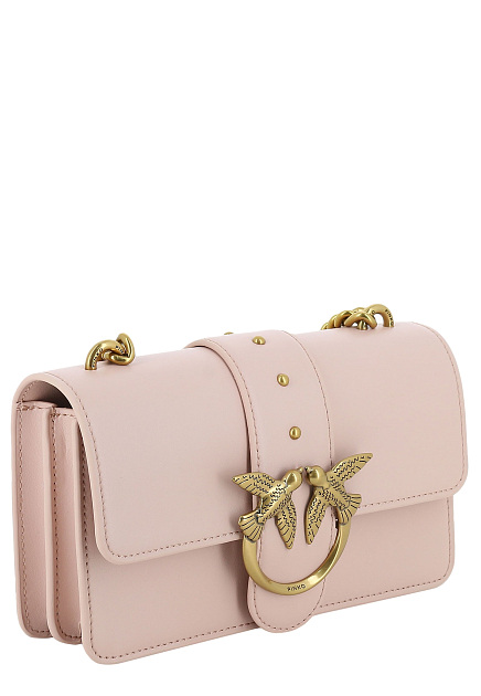 Розовая Mini Love Bag PINKO