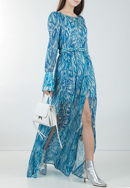 Синее платье PATRIZIA PEPE