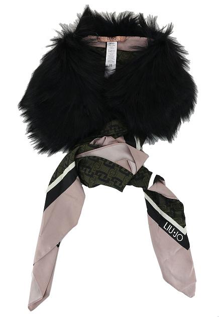 Cuadrante brumoso Centro de la ciudad  Черный шарф LIU JO, код 114347 по цене 9900 рублей, арт. 269077 T0300 -  купить в Москве интернет-магазине брендовой одежды - ElytS.ru