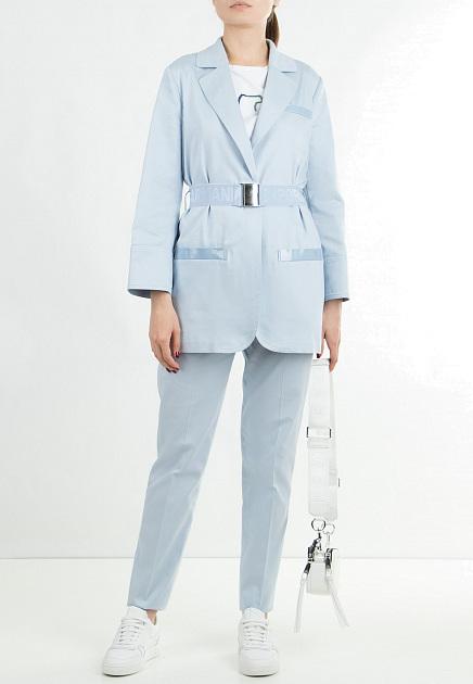 Голубой костюм EMPORIO ARMANI
